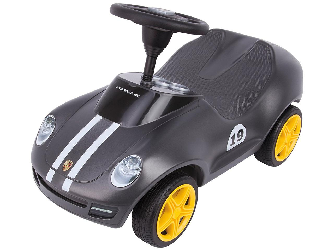 Машинка Big каталка Порш и защитные накладки для детской обуви Porsche 56346