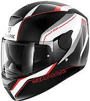 """Шлем Shark D-Skwal RAKKEN black\white\red """"L"""", арт. HE4010EKWR S"""