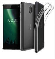 Ультратонкий чехол для Nokia 2.1 прозрачный