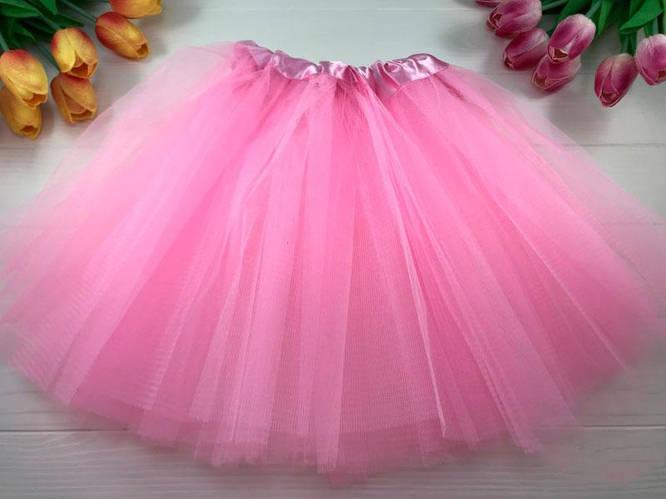 карнавальная юбка из фатина