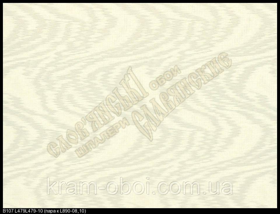Обои Славянские Обои КФТБ виниловые горячего тиснения шелкография 10м*1,06 9В107 Богема 3 479-10