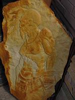 """Картина на камне """"Казак"""", фото 1"""