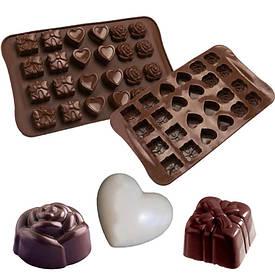 Форма силиконовая для конфет Ассорти