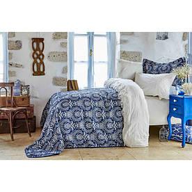 Набор постельное белье с покрывалом Karaca Home - Elina 2018-2 beyaz евро