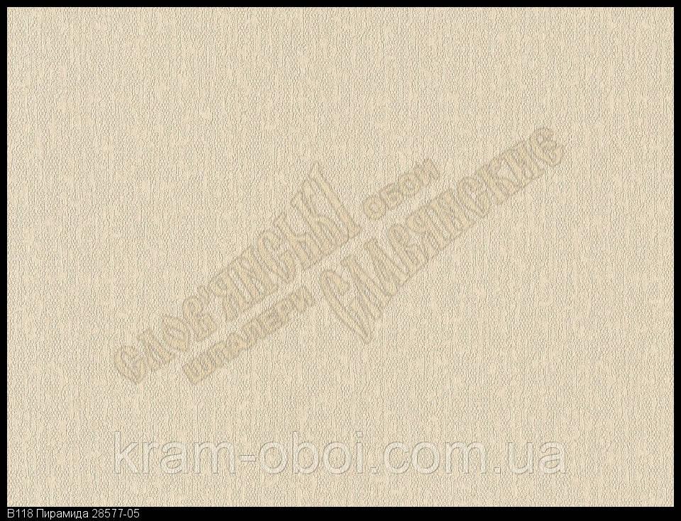 Обои Славянские Обои КФТБ виниловые горячего тиснения шелкография 10м*1,06 9В118 Пирамида 2 8577-05