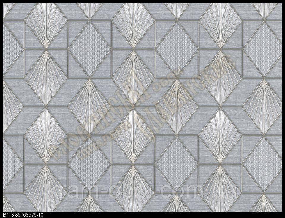 Обои Славянские Обои КФТБ виниловые горячего тиснения шелкография 10м*1,06 9В118 Пирамида 8576-10