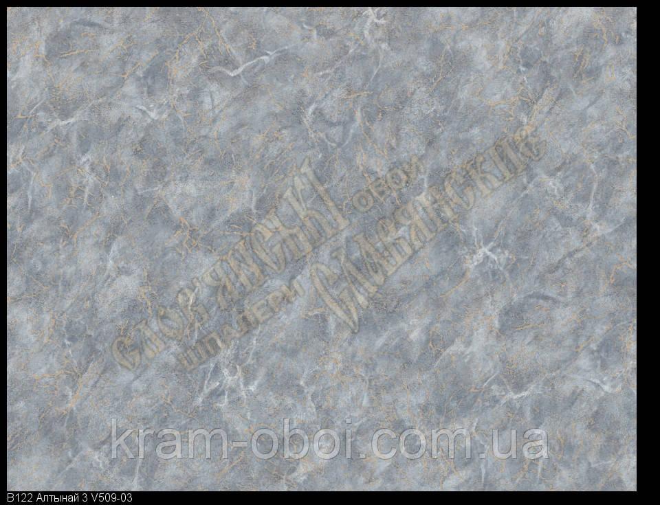 Обои Славянские Обои КФТБ виниловые горячего тиснения шелкография 10м*1,06 9В122 Алтынай 3 509-03