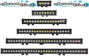 LED фари однорядні з 10 W діодами