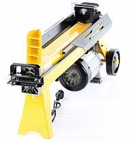 Дровокол гидравлический HIGHER, горизонтальный 2200 Вт, 6,5т. , фото 2