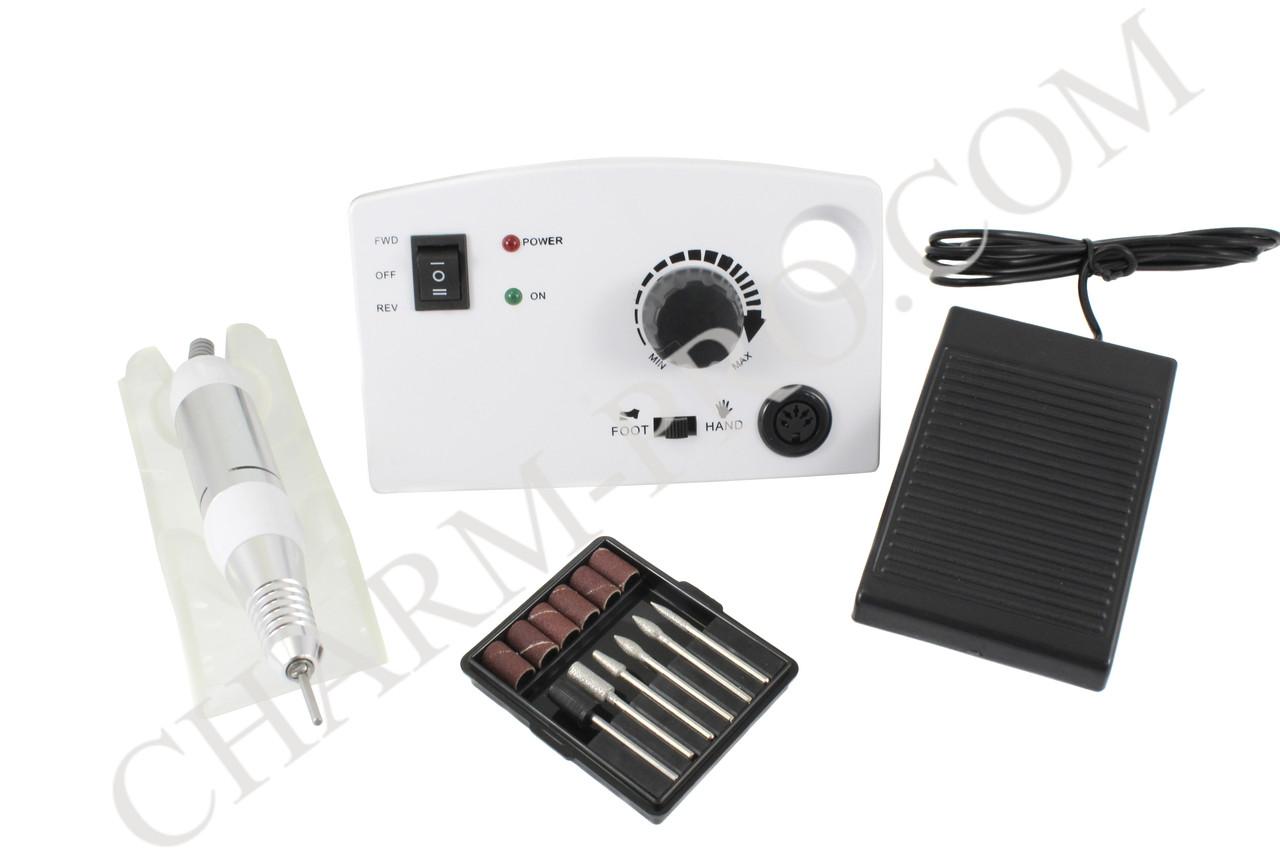 Компактный фрезер для маникюра DM-211 30W/30000 об. (белый)