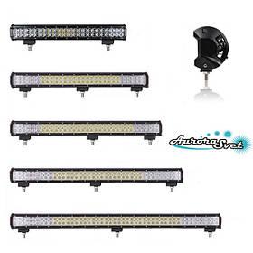 LED фари дворядні c 10 W діодами