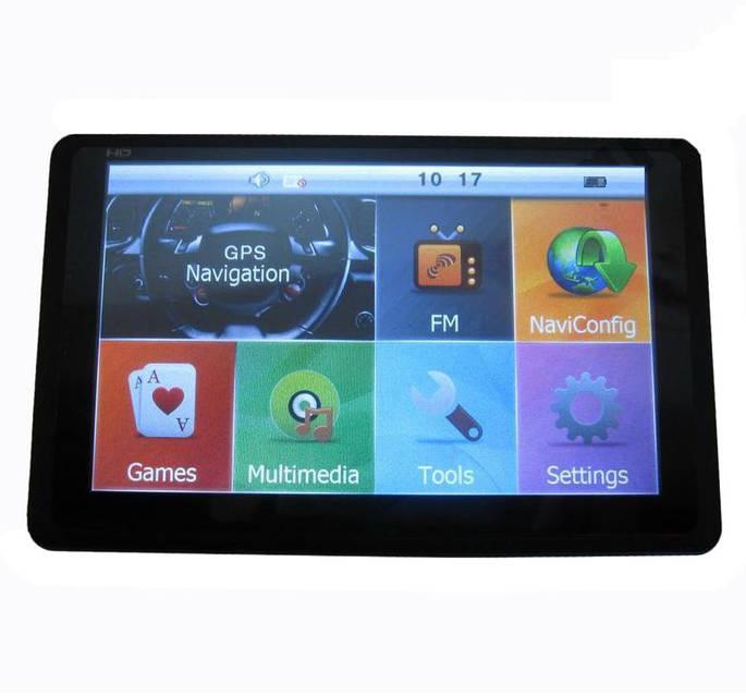 "GPS HD навигатор 5008 4gb Cortex-A7 800mHz 5"" NZX, фото 1"