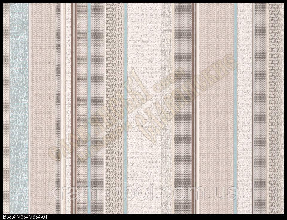 Обои Славянские Обои КФТБ виниловые на бумажной основе 10 метровые 10м*0,53 9В58 Мотив 2 334-01