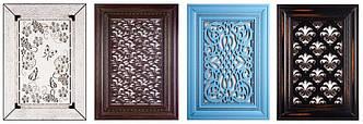 Перфоровані декоративні панелі з МДФ, м.кв.