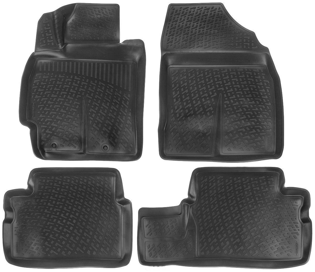 Килимки в салон для Toyota Corolla/Auris (07-) поліуретанові 209020501
