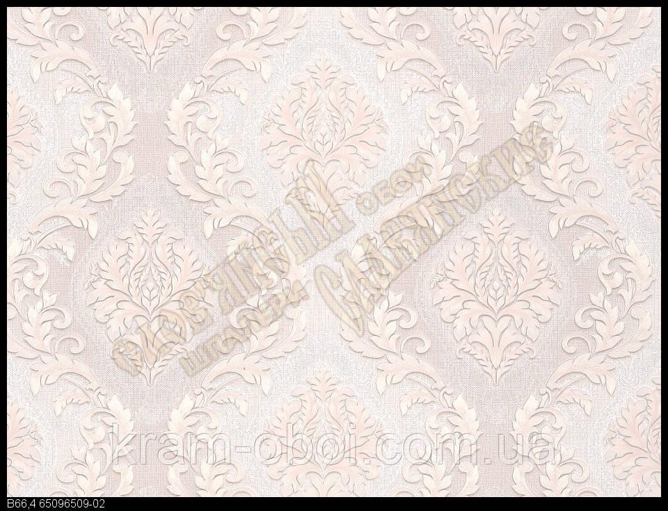 Обои Славянские Обои КФТБ бумажные дуплекс 10м*0,53 9В66 Марсель 6509-02