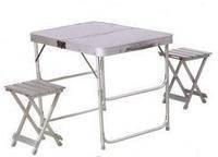 Комплект мебели для пикника стол и 2 стульчика Ranger ST-005, фото 2