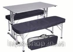 "Комплект мебели для пикника «""Стол+2 скамейки Voyager TA-486, фото 2"