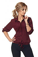 Легкая блуза из мягкой, приятной к телу ткани в размерах 42-52, фото 1