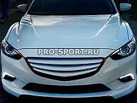 Решетки радиатора Mazda 6 GJ поперечные 2012-2017