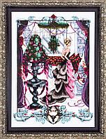 Схема Mirabilia Designs Christmas in London Рождество в Лондоне MD136