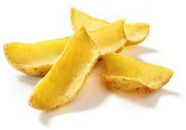 Картофельные лодочки для соуса