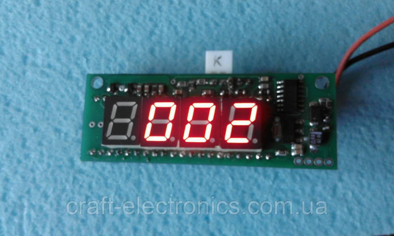 КР572ПВ2 Модуль прецизионного вольтметра на чипе КР572ПВ2   200В