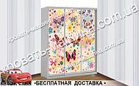 Шкаф - купе БАБОЧКИ, фото 1