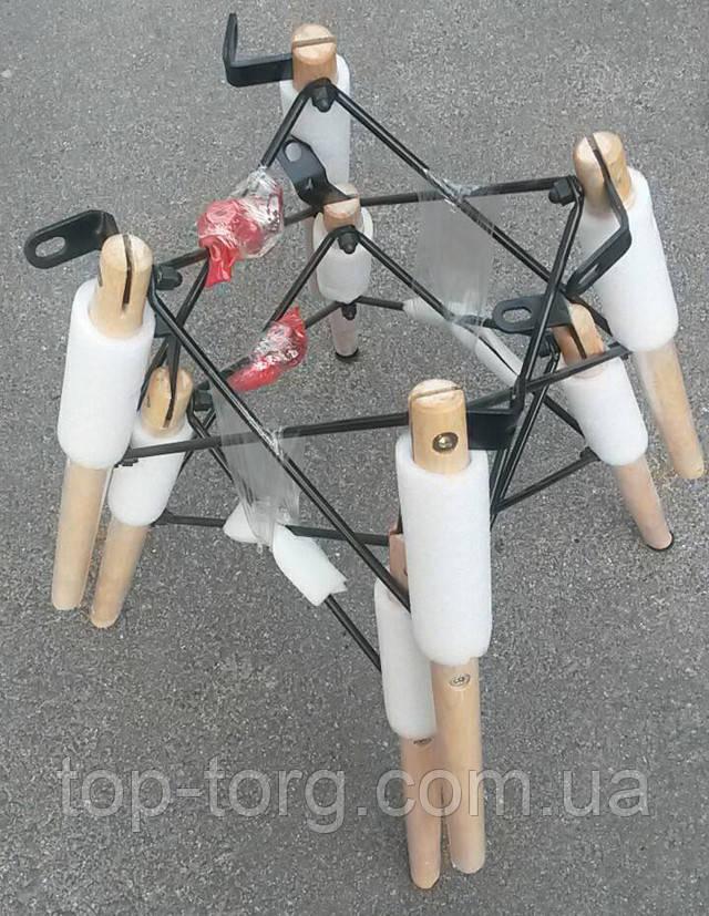 Деревянные ножки с металлическими перемычками. Купить стуьля
