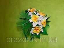 Ободок с цветами  нарцисса