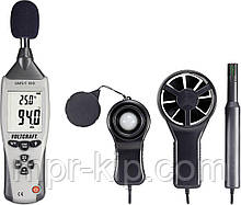 VOLTCRAFT UM5 / 1 100 (5 в 1) : шумомір, анемометр, термометр, люксметр і гігрометр. Німеччина