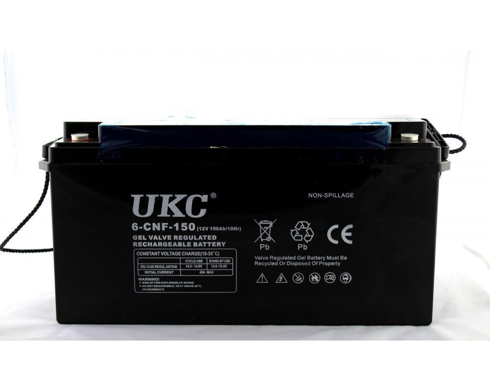 Аккумулятор гелевый - 150 Ач 12В GEL UKC