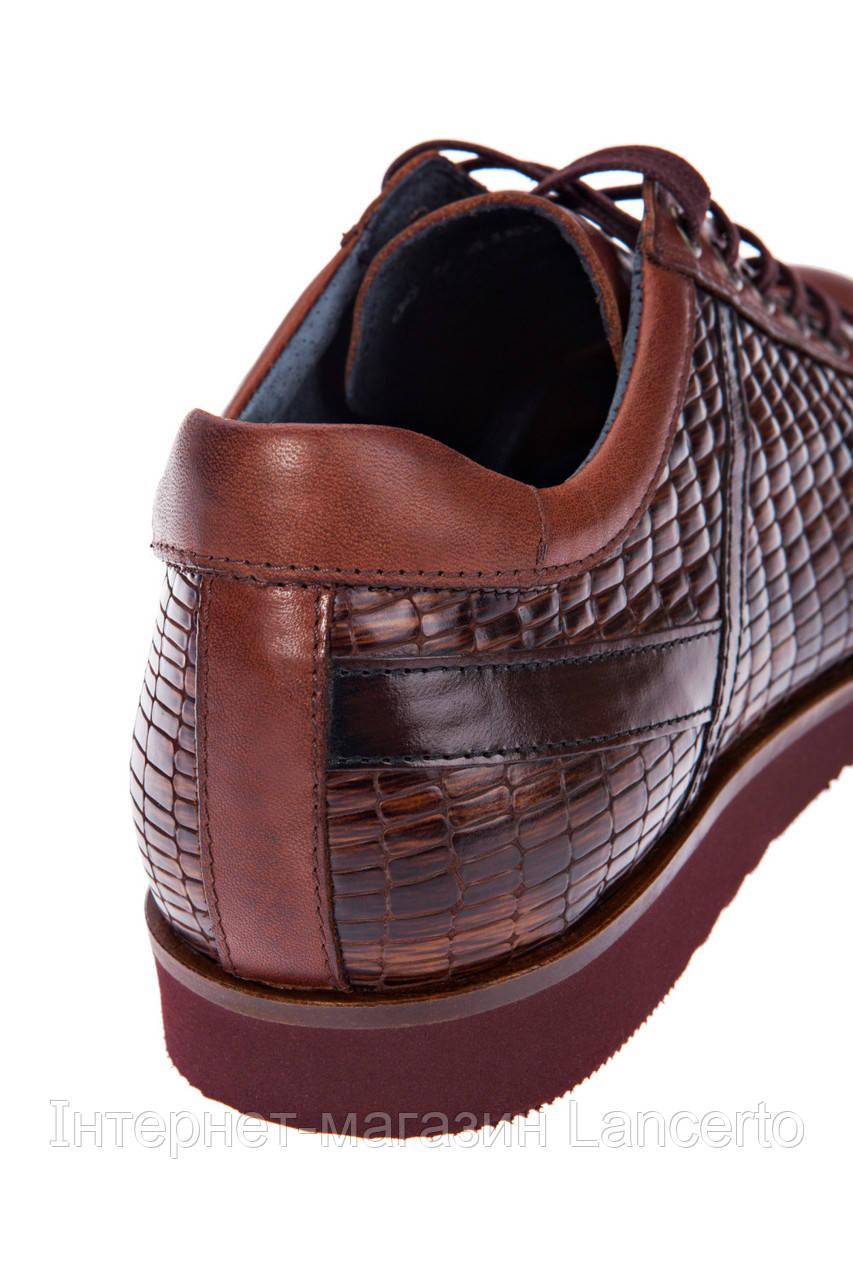 Чоловіче Шкіряне Взуття Коричневе LANCERTO York 6d7fd5cda5e26