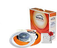 Woks-17 260 Вт (1,7-2,1 м2) с терморегулятором  теплый пол в стяжку двухжильный