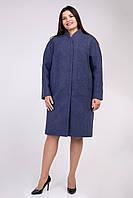 Батальное пальто Бонита прямого пошива