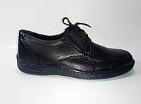 Мужские туфли из эко кожи на шнурках, фото 1
