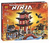 "Конструктор Bela 10427 Храм ""Аэроджитцу"" Ниндзяго, 2031 деталь. Аналог Lego Ninjago 70751, фото 1"