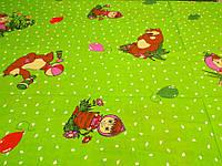 Ткань для пошива постельного белья бязь голд Маша и Медведь