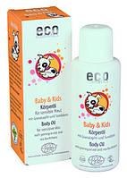 """Детское масло для тела органическое """"Eco Cosmetics"""" 100 мл"""