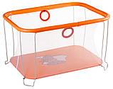 Манеж детский игровой Qvatro Солнышко 02 мелкая сетка, фото 2