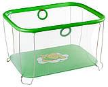 Манеж детский игровой Qvatro Солнышко 02 мелкая сетка, фото 6