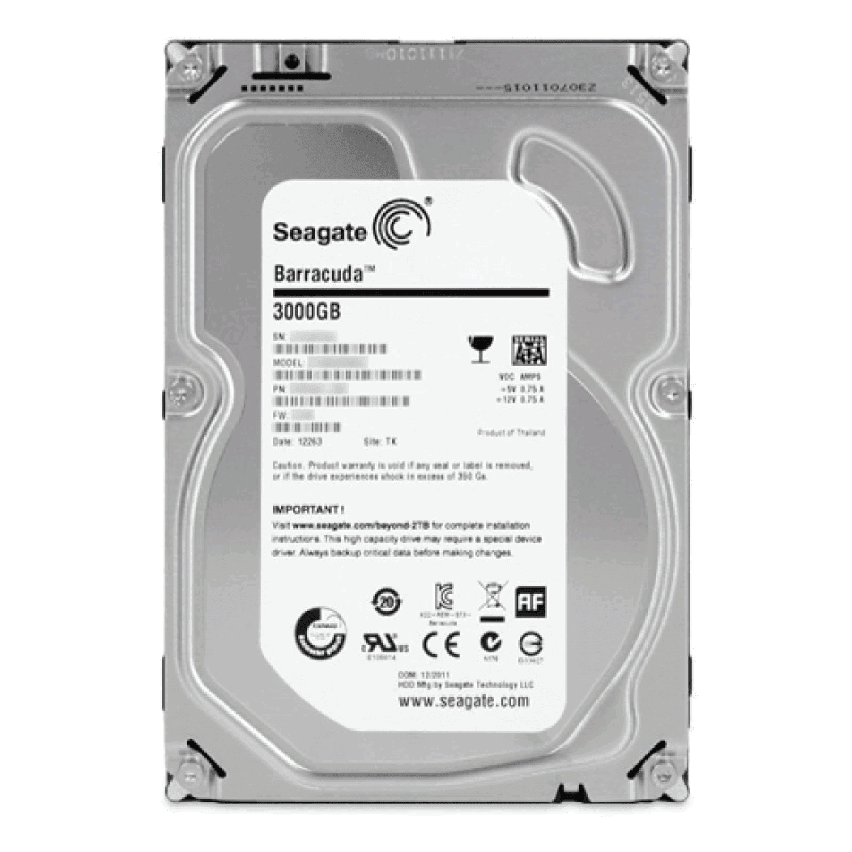 Seagate ST3000DM001 SATA Drive Drivers for PC