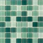 Мозайка зеленая   De Lux-66292