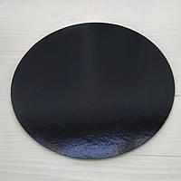 Підложка ламінована чорний-чорний 1.2 мм круг 90мм
