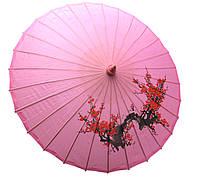 Зонт шелковый с рисунком 57 см