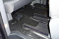 К/с Hyundai H-1 коврики салона в салон на HYUNDAI ХУНДАЙ Хендай H-1 New 2007-> 1 шт., 3 ряд. (полиуретан)