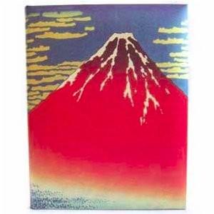Рамка для фотографий «Красная гора Фуджи»