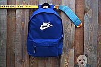 Новые Рюкзаки Nike Backpack ТОП-Качества Рюкзаки Найк Сумки Найк (Синий)  +Наложенный 4dd590006c93a