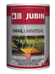 JUBIN Email Universal - универсальное алкидное покрытие для дерева и металла