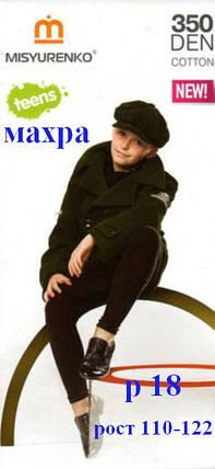 Гамаши для подростков зимние на махре р 18 рост 110-122, фото 2